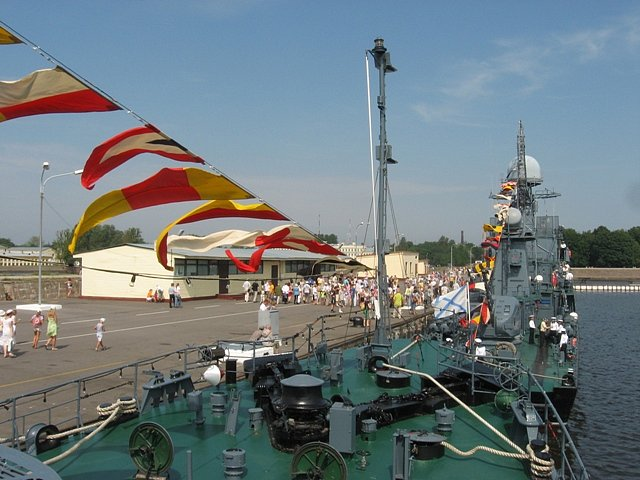 Военные моряки кронштадта и